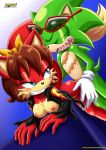 1boy 1girl anthro fiona_fox furry mobius_unleashed scourge_the_hedgehog sex tagme