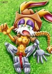 1girl bunnie_rabbot dildo furry mobius_unleashed tagme