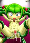 1girl breasts cosmo_the_seedrian mobius_unleashed tagme tentacle