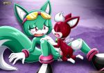 1girl chip furry light_gaia mobius_unleashed sex sonar_the_fennec tagme