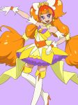 1girl amanogawa_kirara angry anus ass back blush breasts clenched_teeth closed_eyes covering cum cum_on_body cure_twinkle detached_collar dimples_of_venus dress dress_pull earrings embarrassed facial forced forced_exposure from_behind gif gif gloves go!_princess_precure gradient_hair high_heels knee_boots long_hair low-tied_long_hair low_twintails magical_girl muramura_hito navel nipples no_panties nude open_mouth orange_hair precure purple_eyes pussy small_breasts star_earrings surprised teamwork teeth tiara tied_hair twin_tails undressing zettai_ryouiki
