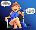 big_breasts family_guy lois_griffin nipples thighs