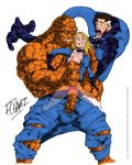 ben_grimm fantastic_four frank_chavez invisible_woman marvel mister_fantastic mr_fantastic sue_storm the_thing