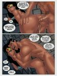 anal anal_penetration batman bruce_wayne dc dcau doggy_position edit from_behind nude sex sunsetriders7 wonder_woman