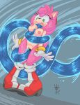 1girl 1girl amy_rose anthro breasts chaos_(sonic) clothing forced gloves green_eyes hair hairband hedgehog high_res mammal nipples nude penetration pink_body pink_hair pussy rape sega sex sif tentacle tentacle_rape vaginal vaginal_penetration