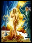 blonde_hair breasts celeborn covering_crotch covering_pussy elf galadriel lord_of_the_rings
