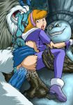anal daphne_blake double_penetration forced hairband rape red_hair scooby-doo sex torn_clothes vaginal