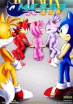 amy_rose blaze_the_cat flona_fox mess mobius_unleashed sonic_the_hedgehog tails