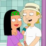 american_dad bathroom gif handjob hayley_smith jeff_fischer penis