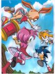 """amy_rose ass cream_the_rabbit miles_""""tails""""_prower mobius_unleashed multiple_tails palcomix palteam panties sonic_the_hedgehog tail upskirt"""