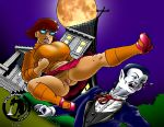 big_breasts scooby-doo shaved_pussy skirt socks velma_dinkley