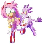 amy_rose blaze_the_cat hecticarts sonic_(series) tagme