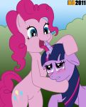 fellatio females friendship_is_magic hentai_boy horn_fellatio my_little_pony nude pinkie_pie pony twilight_sparkle yuri