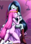 adventure_time anus ass big_ass big_breasts bottomless breasts marceline nude palcomix princess_bubblegum pussy yuri yuri_haven