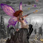 bishoujo_senshi_sailor_moon bra breasts sailor_heavy_metal_papillon wings