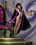 bishoujo_senshi_sailor_moon bra breasts high_heels hotaru_tomoe mistress_nine panties