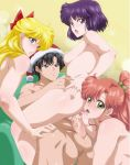 aidan aidan_(artist) aino_minako anilingus ass bishoujo_senshi_sailor_moon breasts chair chiba_mamoru christmas cowgirl_position group group_sex hotaru_tomoe kino_makoto looking_back makoto_kino mamoru_chiba minako_aino nude oral rimjob sailor_jupiter sailor_saturn sailor_venus santa_hat sex tomoe_hotaru vaginal vaginal_penetration
