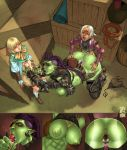1girl all_fours anus armor armpits big_breasts blonde_hair blue_eyes breasts cedargrove clothing doggy_position double_penetration ear_piercing elf eye_patch eyewear fellatio from_behind_position gaping group group_sex hair high_res humanoid interspecies larger_female male male/female nipples not_furry oral oral_penetration orc penetration penis piercing purple_hair pussy sex size_difference small_dom_big_sub smaller_male spitroast threesome tongue tongue_out vaginal vaginal_penetration white_hair yellow_eyes