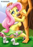 bbmbbf equestria_girls fellatio fluttershy palcomix shirt_lift