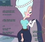 buttjob caption clothed_sex english lovestar_(artist) queen_butterfly star_vs_the_forces_of_evil text tumblr