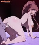 ass bbc big_ass big_breasts big_penis big_testicles breasts chisa_yukizome cum cum_in_pussy cum_inside cum_on_penis danganronpa danganronpa_3 dkir looking_at_viewer nude penis pussy pussy_juice saliva testicles tongue vaginal yukizome_chisa