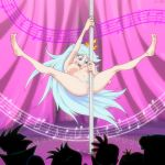 anus ass big_ass big_breasts bishop_(artist) breasts milf nipples nude pole_dancing pussy pussy_juice queen_butterfly star_vs_the_forces_of_evil stripper stripper_pole