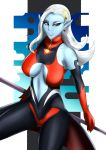 big_breasts breasts demon dragon_ball dragon_ball_xenoverse towa usagiforehead_(artist)