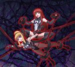 alien big_breasts bondage breasts corruption dark_persona empty_eyes gwen_stacy leebigtree leebigtree_(artist) marvel mary_jane_watson spider-man_(series) symbiote yuri