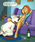 bobby_luv breasts brian_griffin family_guy licking lois_griffin penis pussy