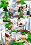 archie bbmbbf doctor dr.finitevus echidna finitevus forced needle palcomix scourge_the_hedgehog yaoi