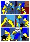 comic kuroishin marge_simpson moe_szyslak the_simpsons