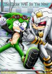 archie bbmbbf doctor echidna finitevus needle palcomix scourge_the_hedgehog sonic_the_hedgehog tied yaoi
