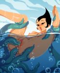 anal_penetration ashi_(samurai_jack) daughters_of_aku nude requiemdusk samurai_jack tentacle vaginal_penetration