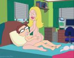 american_dad blonde edit francine_smith gif incest mom_son mother's_duty mother_and_son sfan toes