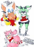 3_girls amy_rose anal_penetration animal_ears blue_eyes breasts christmas clove_the_pronghorn cute furry green_eyes hot looking_at_viewer nipples paizuri penis pink_hair pussy rouge_the_bat semen sexy short_hair smile sonic tail