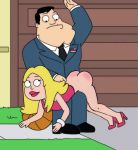 american_dad ass bdsm francine_smith kink spank spanked spanking stan_smith