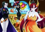 clothed crossover dc_comics dcau hekapoo hotel_transylvania mavis_dracula non-nude popsicle raven sexfire star_vs_the_forces_of_evil teen_titans vampire