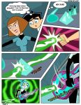 comic danny_fenton danny_phantom darkdp ember_mclain ghost madeline_fenton song_of_lust