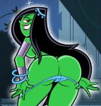 ass breasts danny_phantom dat_ass desiree grimphantom grimphantom_(artist) smile solo tease undressing