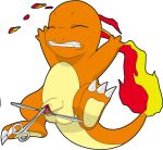 charmander circumcision cute male plastibell pokemon