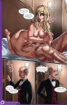 69_position alfred_pennyworth batman batman_(series) bruce_wayne comic harleen_quinzel harley_quinn jzerosk_(artist) nude the_bat_in_love