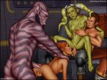 anal anal_penetration ass breasts chopper fellatio fingering foursome from_behind garazeb_orrelios group hera_syndulla human interspecies kanan_jarrus oral pussy sabine_wren sex shabby_blue spread_legs star_wars star_wars_rebels twi'lek vaginal vaginal_penetration