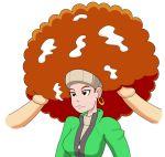 afro bukkake capcom hairjob hentai lotta_hart megatronman megatronman_(artist) phoenix_wright redhead