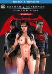 batman batman_(series) blu-ray_cover bruce_wayne clark_kent dc_comics diana_prince handjob nude parody superman superman_(series) wonder_woman wonder_woman_(series)