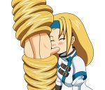 anime deepthroat fellatio guilty_gear hentai long_hair megatronman megatronman_(artist) millia_rage oral video_games