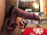 ball_weights boner erect erection hard male_only penis penis selfpic testicle