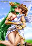 kid_icarus kid_icarus_uprising kissing palcomix palutena pit pussy sex vaginal_penetration