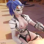 1:1_aspect_ratio 1boy 1girl 3d amelie_lacroix areolae blender blender_(software) breasts cleavage erection female high_resolution large_filesize male medium_breasts nipples no_audio overwatch penis ponytail purple_hair sageofosiris sex talon_widowmaker_(overwatch) tied_hair uncensored vaginal video webm widowmaker_(overwatch) yellow_eyes