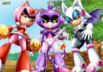 metal_amy_rose metal_blaze_the_cat metal_rouge_the_bat mobius_unleashed pussy robot sega sonic_(series) tagme