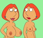 breast_expansion breasts exposed_breasts family_guy lois_griffin nipples topless